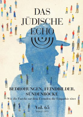 Cover of the Jüdisches Echo journal