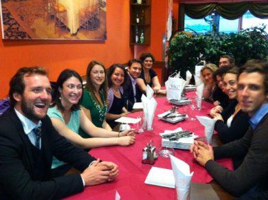 Welcome-Dinner mit der AJC ACCESS-Delegation