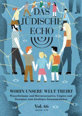 Das Jüdische Echo, Vol. 66, Cover by Cristóbal Schmal, 2017