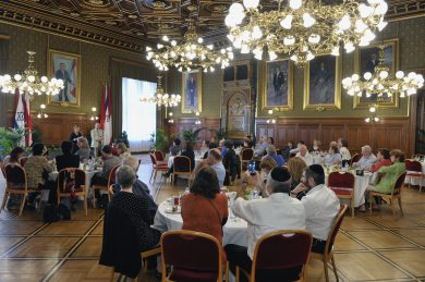 Reception in Vienna City Hall