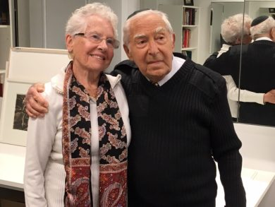 Rabbi David Lapp and his wife