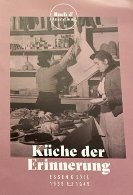 Book cover, Kitchen of Memory