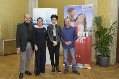 Besuchsgruppe Rathaus, Mai 2019