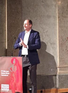 Alles tanzt – Ausstellung im Wiener Theatermuseum, Rede Andreas Mailath-Pokorny