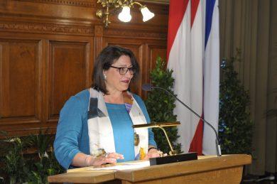 Leon Zelman Preis 2019, Rede von Veronica Kaup-Hasler