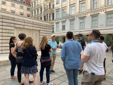 Besuchsprogramm für Young Professionals aus Toronto 2019, Judenplatz