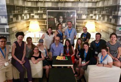 Besuchsprogramm für Young Professionals aus Toronto 2019, Gruppenfoto