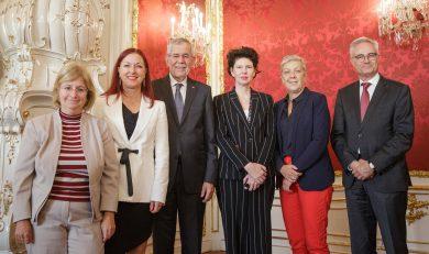 Besuchergruppe 15-22 September, Bundespräsident Alexander Van der Bellen, Susanne Trauneck