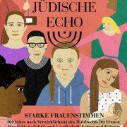 Das Jüdische Echo 2019/20, Vol. 68, Cover, Starke Frauenstimmen