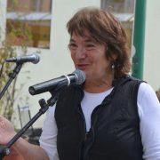 "Elisabeth Ben David-Hindler, founder of ""Steine der Erinnerung"", (""Stones of Remembrance"")"