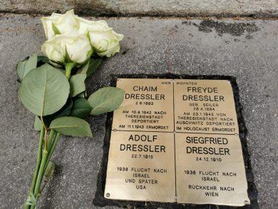Steine der Erinnerung für Familie Dressler