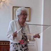 Eva Schloss bei der Dankesrede nach der Verleihung des Goldenen Ehrenzeichens für Verdienste um die Republik Österreich